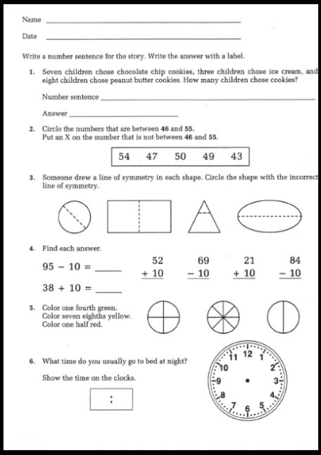 8th grade math worksheets free free printable 8th grade math worksheets with answers