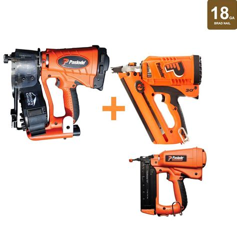 18 Floor Nailer Home Depot by Paslode 18 Cordless Framing Brad Finishing And