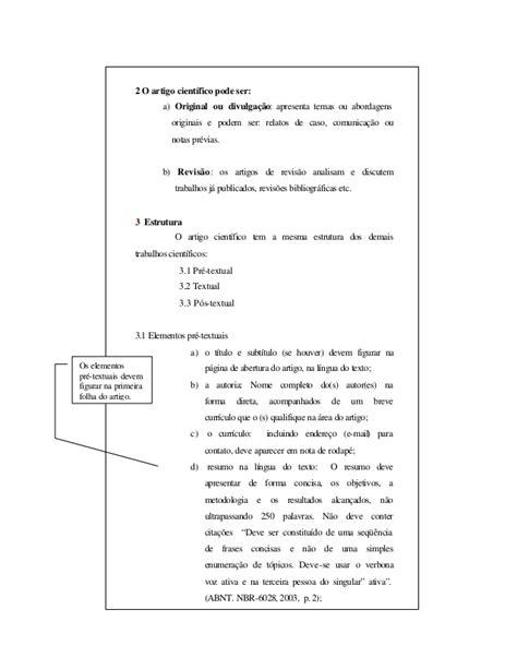 modelo de artigo em word nas normas da abnt 2016 como modelo de artigo científico