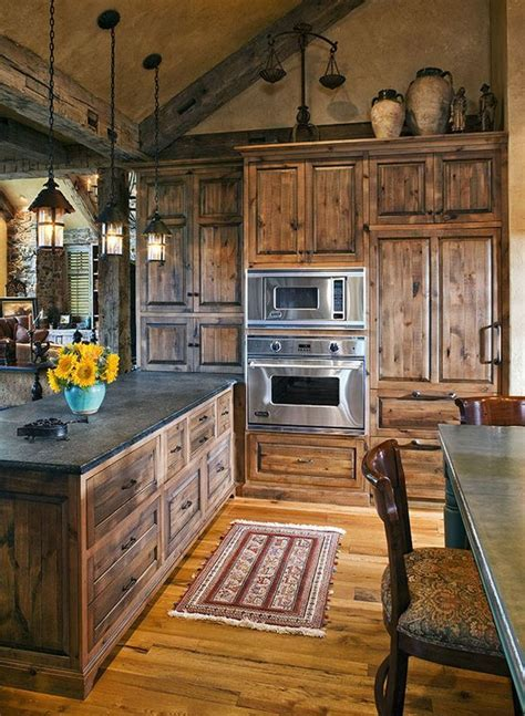 40 Rustic Kitchen Designs to Bring Country Life  DesignBump