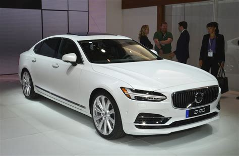 new volvo the 2018 volvo s90 boasts a back seat fit for a king