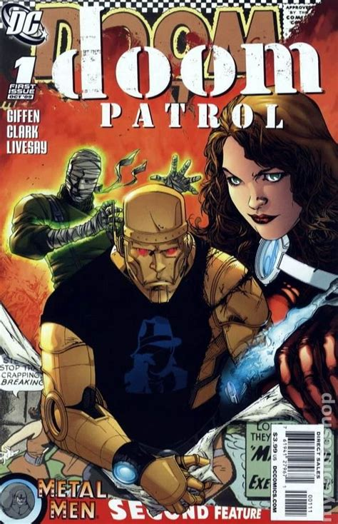 doom patrol   series comic books