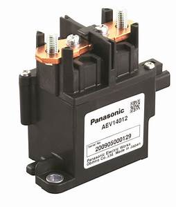 Panasonic U0026 39 S Electric Vehicle Relays For Dc Switching In