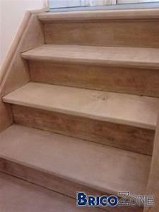 Comment Blanchir Du Bois : nettoyer escalier bois brut resine de protection pour peinture ~ Melissatoandfro.com Idées de Décoration