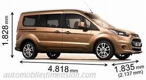 Ford Tourneo Connect 7 Sitzer : abmessungen der ford autos mit l nge breite und h he ~ Jslefanu.com Haus und Dekorationen