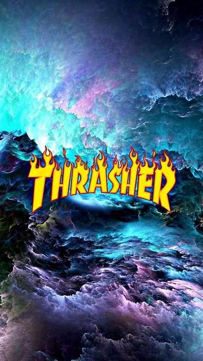 Thrasher Wallpapers Aesthetic Smoke Hypebeast Iphone Supreme