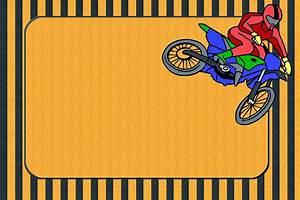 Motocross Birthday Invitations Best Party Ideas