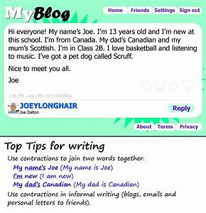 Introducing yourself on a blog | LearnEnglish Teens ...