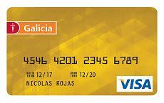 tarjetas galicia credito cada  mas beneficios