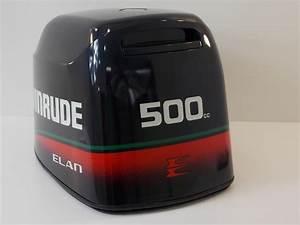 Johnson Evinrude Engine Cover Cowl Hood 1996