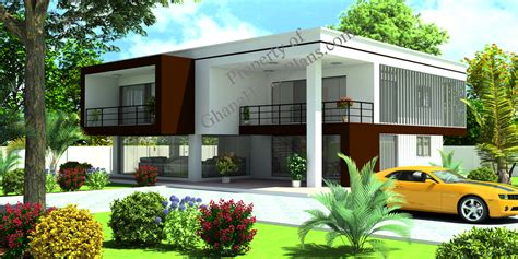contemporary home plan  cameroon  africa countries