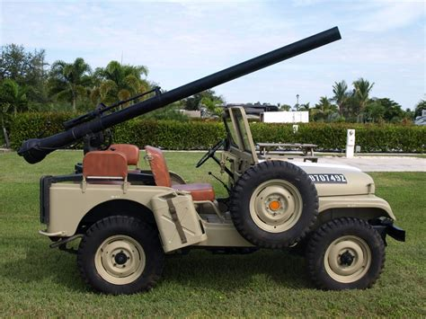 military jeep with gun 1965 jeep cj 5 convertible 97956