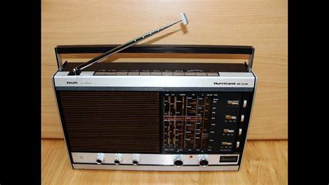 Radio Philips Hurricane de Luxe - YouTube
