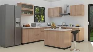 Modele Cuisine En L : 1001 astuces et id es pour am nager une cuisine en l ~ Teatrodelosmanantiales.com Idées de Décoration