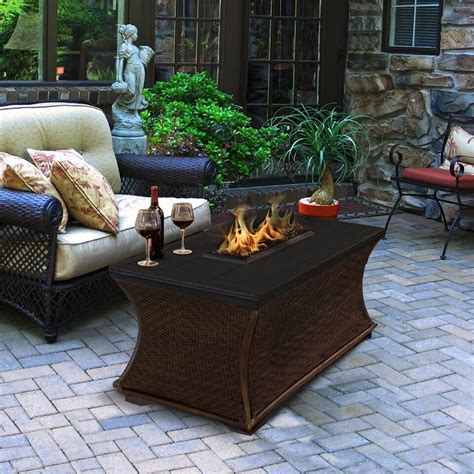 I figured instead of tossing it, i'd try my hand at turning it into something i needed. California Outdoor Mendocino Rectangular Fire Pit Coffee Table - Fire Pits at Hayneedle