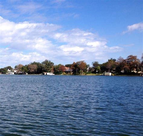 Winter Park Fl Boat Tour by Scenic Canal Opening In To The Lake Picture Of Scenic