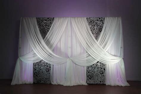 Patterned Panel Cutout Swimdress white patterned felt cutout for backdrop panel 10ft