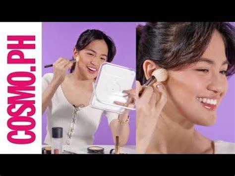 julie anne san jose makeup julie anne san jose s 5 minute makeup challenge youtube