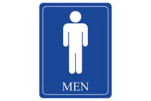 Men Restroom Sign Printable
