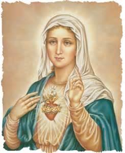 Blessed Virgin Mary Sacred Heart
