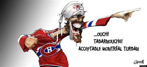 montreal turban cartoon