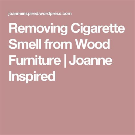 1000 ideas about cigarette smoke removal on