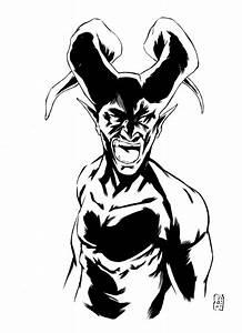 Devil Tattoo Sketch by TommyDamnInks on DeviantArt