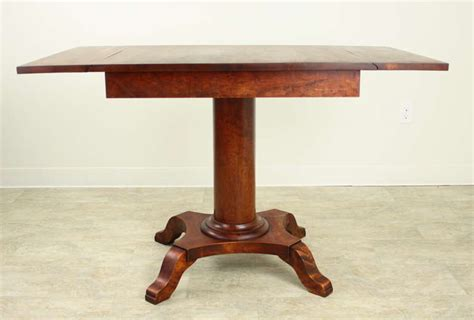 column table l antique swedish column base dropleaf table for at 1stdibs