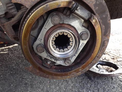 gmc envoy rear wheel bearing replacement built  drive