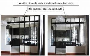 Verriere Interieure Coulissante : verri re d 39 int rieur ~ Premium-room.com Idées de Décoration