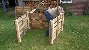 Bauen Mit Europaletten : video komposter aus europaletten selber bauen so geht 39 s ~ Michelbontemps.com Haus und Dekorationen