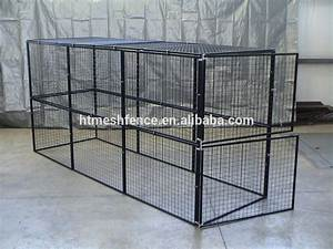 galvanized unique iron fence steel welded wire dog kennels With wire fence dog kennel