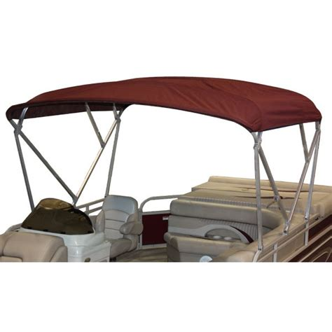 Pontoon Boat Bimini Top With Frame by 8x10 Pontoon Boat Bimini Top Canvas And Frame Complete Set
