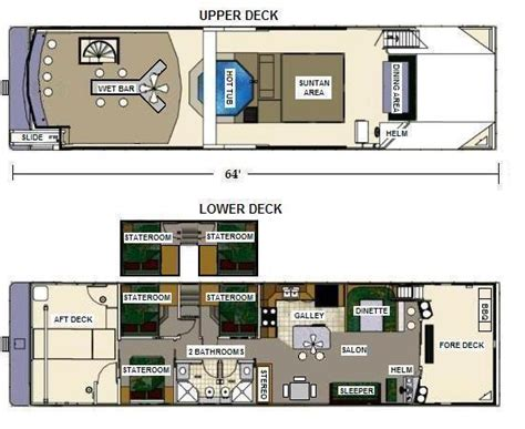 Houseboat Layout by Houseboat Floor Plans 8x25 Floor Plans House Plans