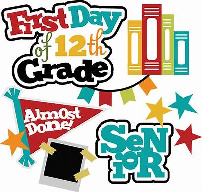 Grade 12th Clipart Svg Scrapbook Senior Scrapbooking