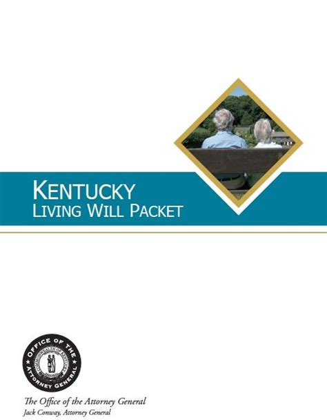 free medical power of attorney living will kentucky