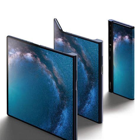 huaweis folding phone takes  foldable fight   notch