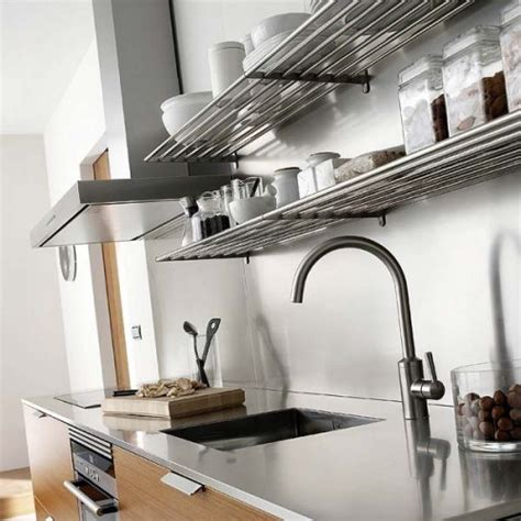 kitchen rail storage system 31 practical kitchen rail storage ideas shelterness 5546