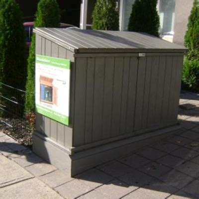 cedar garbage can storage plans woodworking projects plans