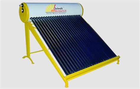 solar powered heat l solar water heater deshmukh solar energy pvt ltd