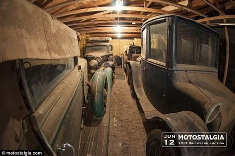 Found In Barn by Five Perfectly Preserved Cars Worth 700k Found Inside