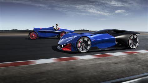 peugeot concept peugeot l500r hybrid concept supercar wallpaper hd car