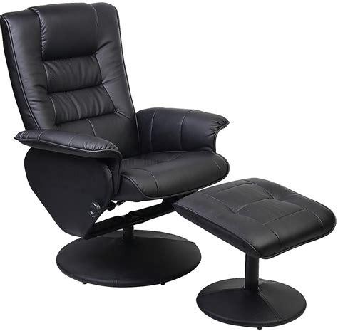 black recliner chair duncan reclining chair w ottoman black the brick