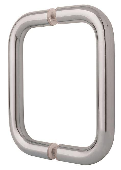 crl shower door pull handles