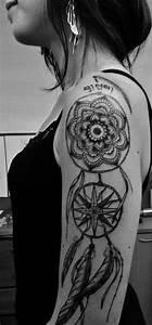Tatouage Attrape Reve Homme : tatouage attrape reve bras femme ~ Melissatoandfro.com Idées de Décoration
