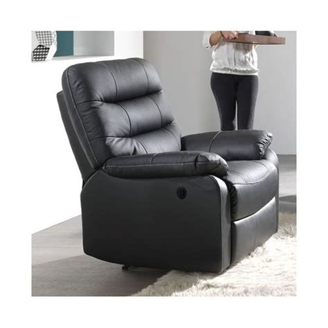 fauteuil relaxation 233 lectrique cameo cuir arrivages