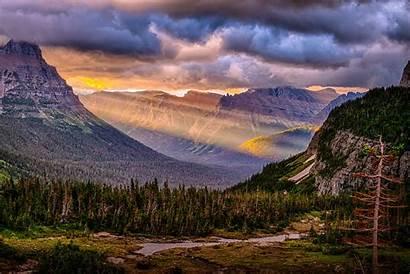Landscape Beams God Interpretive Glacier Horton Bill
