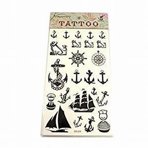 Maritime tattoos anker steuer schiffe kompass matrose for Tattoosteuer