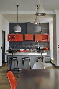 Farbgestaltung Küche Wand : welche farbe f r k che 85 ideen f r fronten und wandfarbe ~ Sanjose-hotels-ca.com Haus und Dekorationen