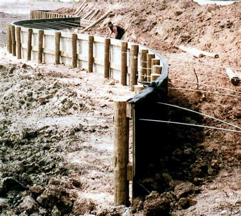 Wood Bulkhead Construction